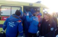 카자흐스탄 청년, 항공기 추락 당시 임산부 보호