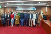 카자흐스탄 언론인들, 울산 울주군청 방문