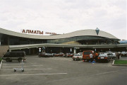 누르술탄, 알마티 공항 폐쇄