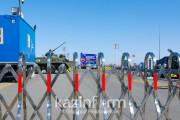 카자흐스탄 콕세타우 시 외곽에 7 개의 임시방역검문소 재설치