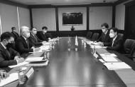 구홍석 대사, 카자흐스탄 산업인프라개발부 장관 면담