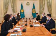 아르모 브레약  Total 탐사 및 생산부분 사장, 토카예프 대통령 방문