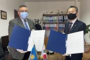 한인일보, '젤라보이 카자흐스탄'신문과 상호교류 업무협약 체결