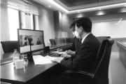 구홍석 대사, 티무르 꿀리바예프 카자흐스탄 올림픽위원회 위원장과 면담